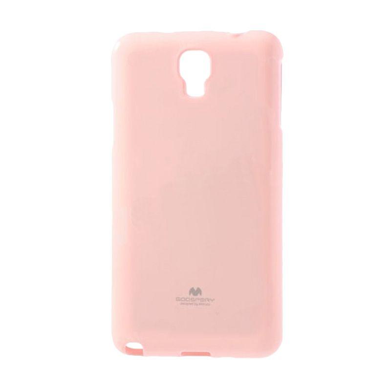 Mercury Goospery Jelly Glitter Pink Casing for Galaxy S4