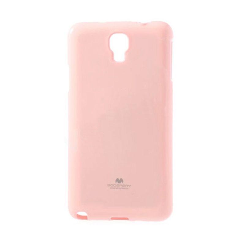 Mercury Goospery Jelly Glitter Pink Casing for Galaxy S5