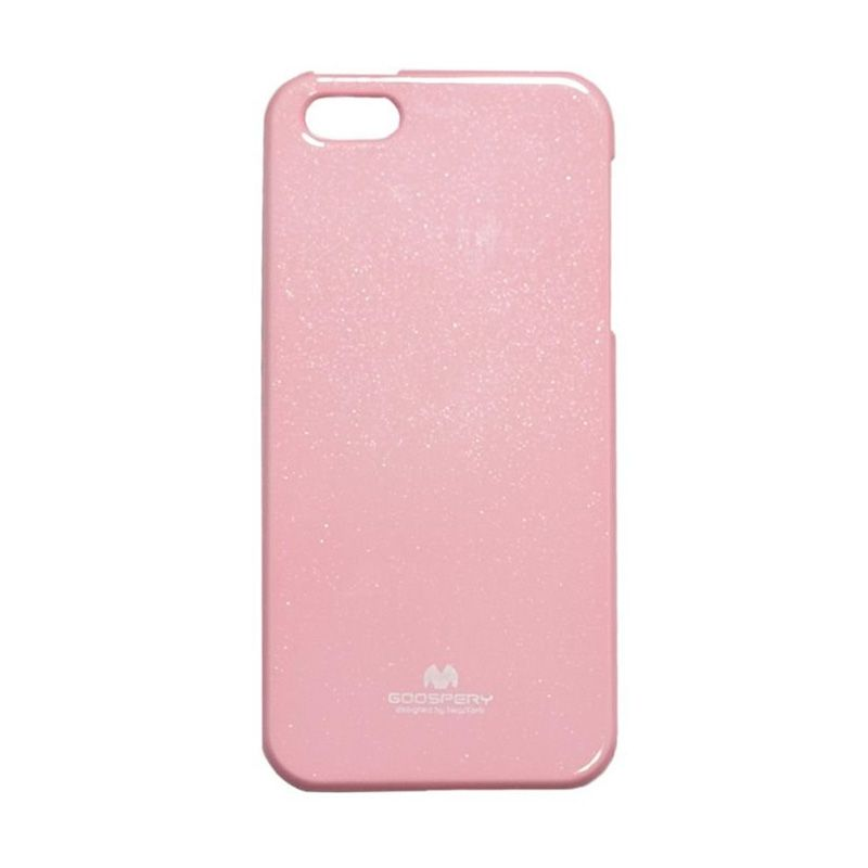 Mercury Goospery Jelly Glitter Pink Casing for iPhone 5 or 5S