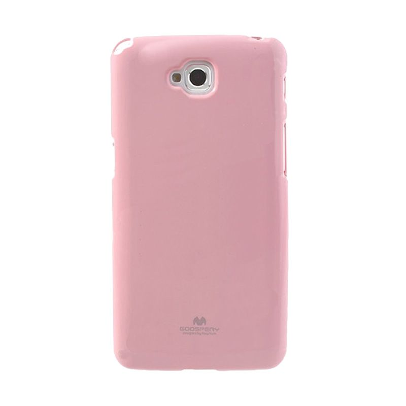 Mercury Goospery Jelly Glitter Pink Casing for LG G Pro Lite or Dual