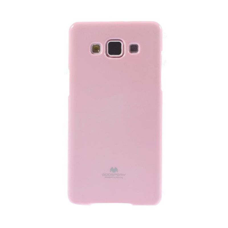 Mercury Goospery Jelly Glitter Pink Casing for Samsung Galaxy J1