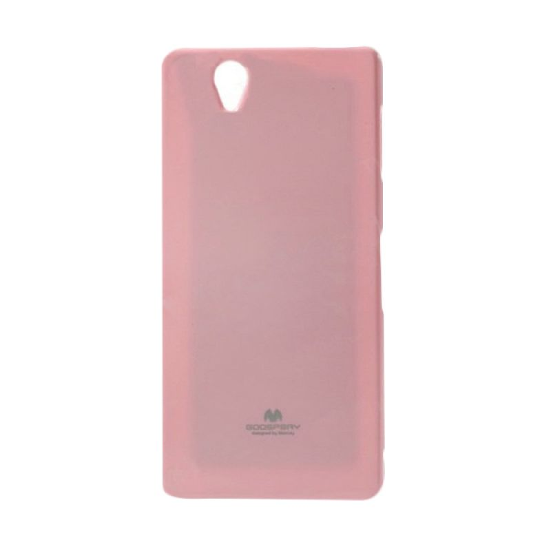 Mercury Goospery Jelly Glitter Pink Casing for Sony Xperia Z3