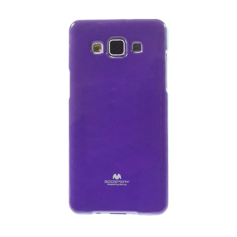 Mercury Goospery Jelly Glitter Purple Casing for Galaxy A5