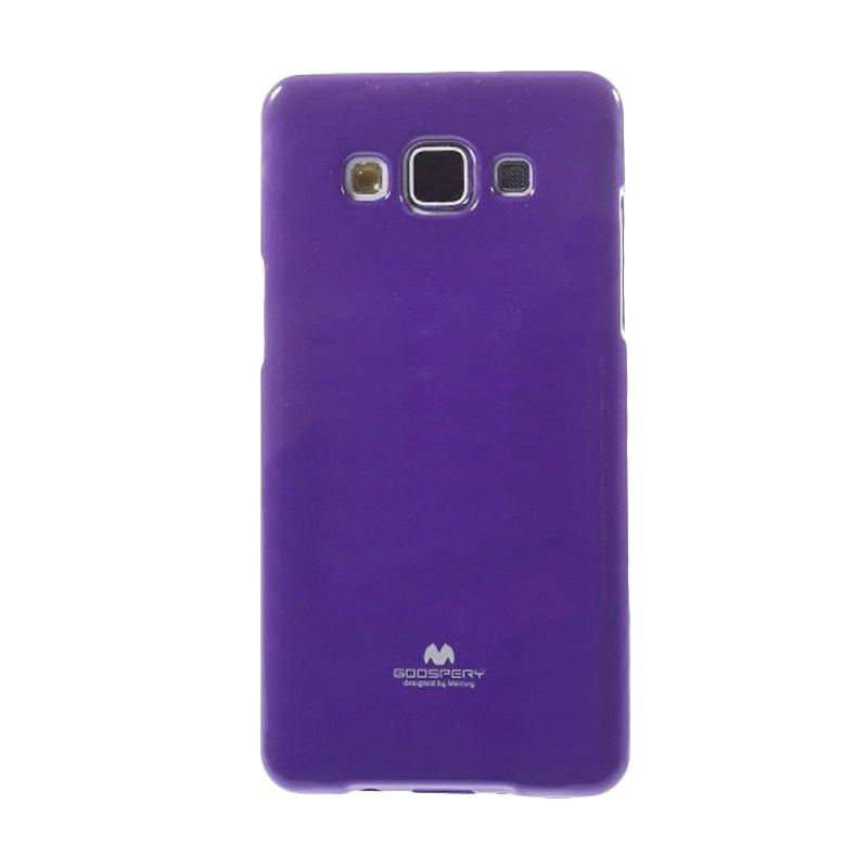 Mercury Goospery Jelly Glitter Purple Casing for Galaxy Grand 2 Duos