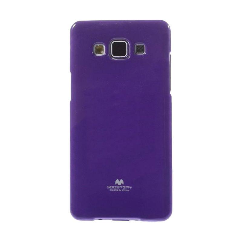 Mercury Goospery Jelly Glitter Purple Casing for Galaxy Grand Duos I9080/9082/Neo