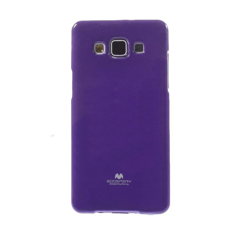 Mercury Goospery Jelly Glitter Purple Casing for Galaxy Grand Prime