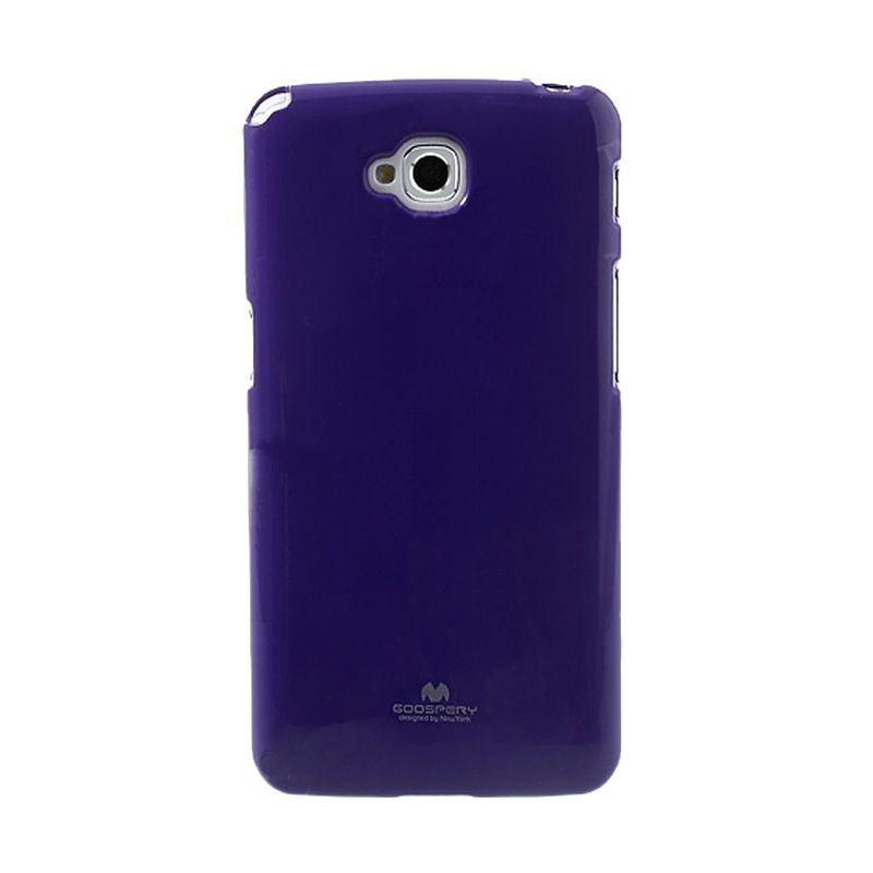 Mercury Goospery Jelly Glitter Purple Casing for LG G Pro Lite or Dual