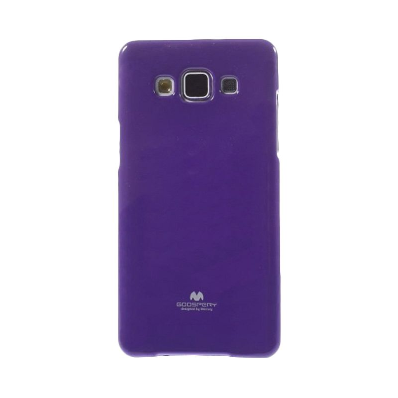Mercury Goospery Jelly Glitter Purple Casing for Samsung Galaxy J1