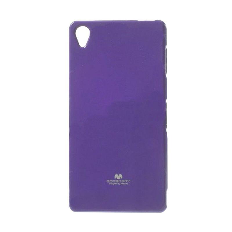 Mercury Goospery Jelly Glitter Purple Casing for Sony Xperia Z3