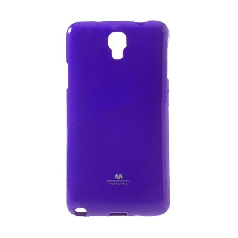 Mercury Goospery Jelly Glitter Purple Casing for Xiaomi Redmi 1S