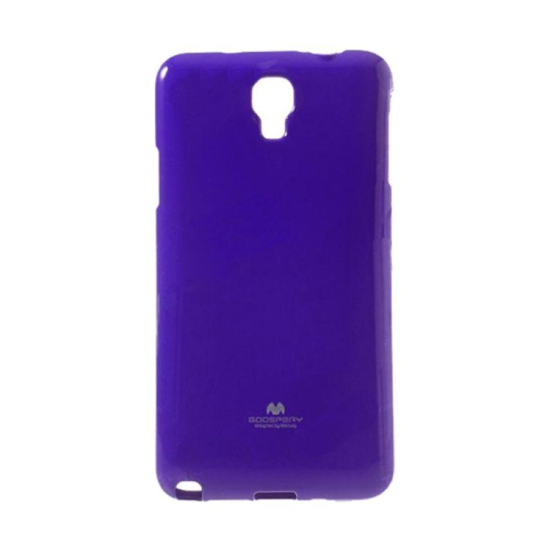 Mercury Goospery Jelly Glitter Purple Casing for Xiaomi Redmi Note