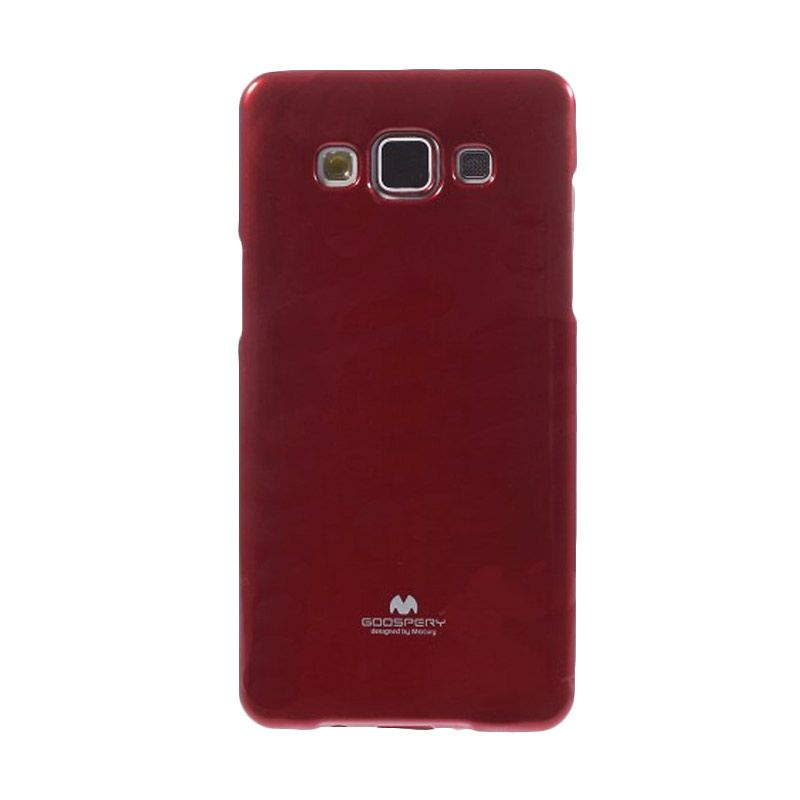 Mercury Goospery Jelly Glitter Red Casing for Galaxy Grand Duos I9080/9082/Neo