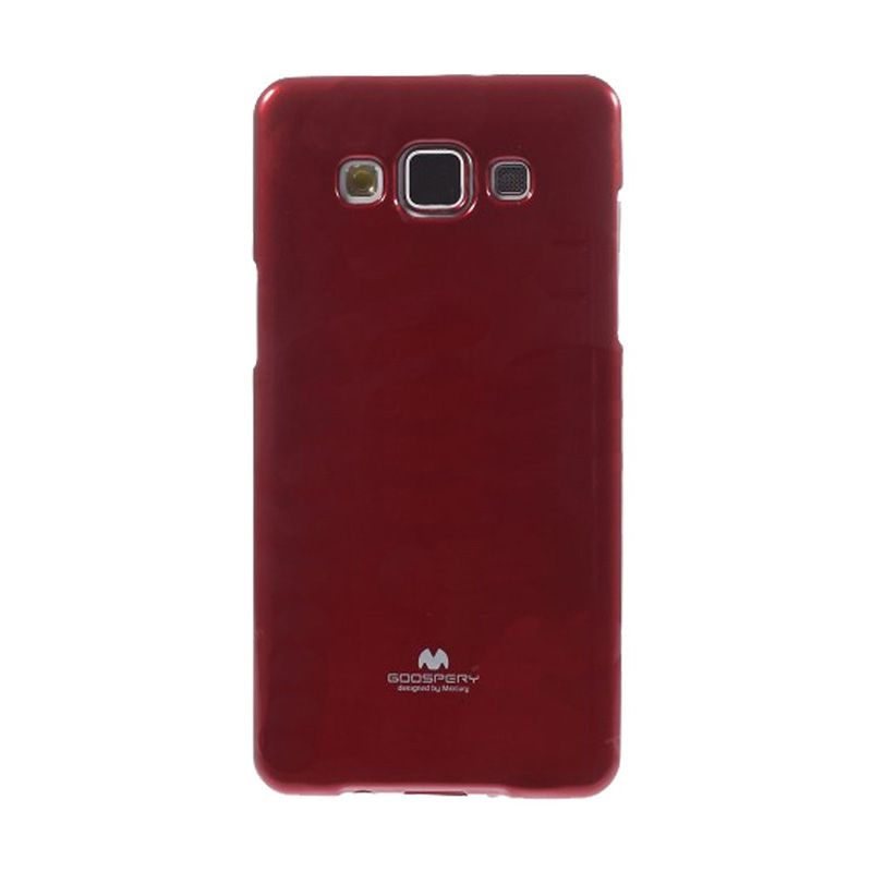 Mercury Goospery Jelly Glitter Red Casing for Galaxy V or ACE 4