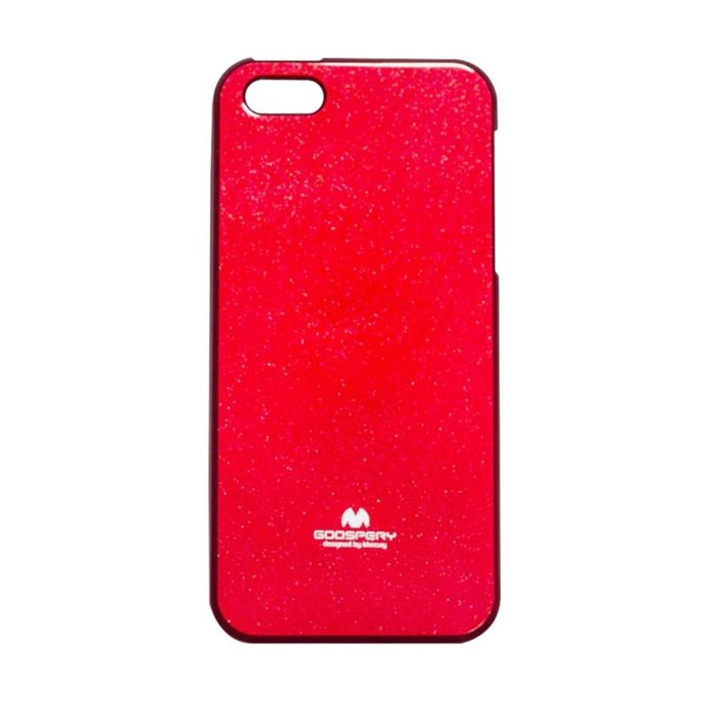 Mercury Goospery Jelly Glitter Red Casing for iPhone 4 or 4S
