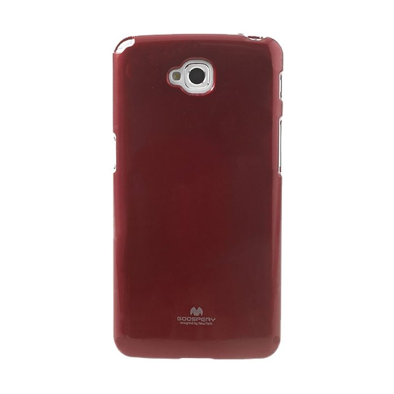 Mercury Goospery Jelly Glitter Red Casing for LG G Pro Lite or Dual