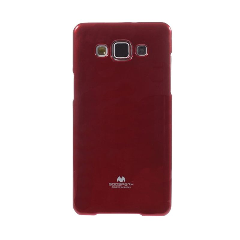 Mercury Goospery Jelly Glitter Red Casing for Samsung Galaxy J1