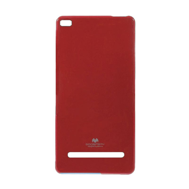 Mercury Goospery Jelly Glitter Red Casing for Xiaomi Mi4i