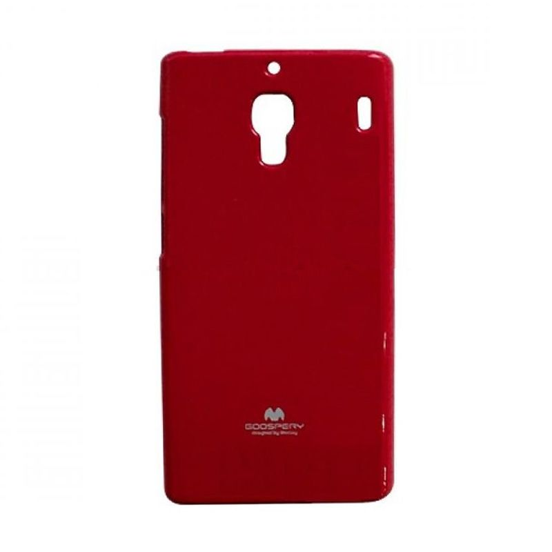 Mercury Goospery Jelly Glitter Red Casing for Xiaomi Redmi 1S