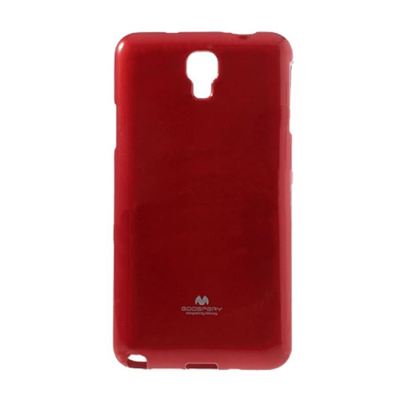 Mercury Goospery Jelly Glitter Red Casing for Xiaomi Redmi Note