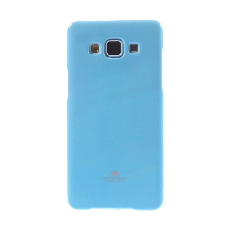 Mercury Goospery Jelly Glitter Sky Blue Casing for Galaxy Grand 2 Duos