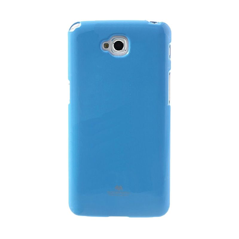 Mercury Goospery Jelly Glitter Sky Blue Casing for LG G Pro Lite or Dual