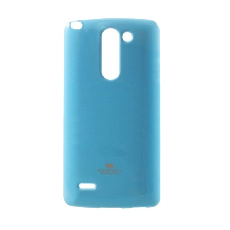 Mercury Goospery Jelly Glitter Sky Blue Casing for LG G3 Stylus