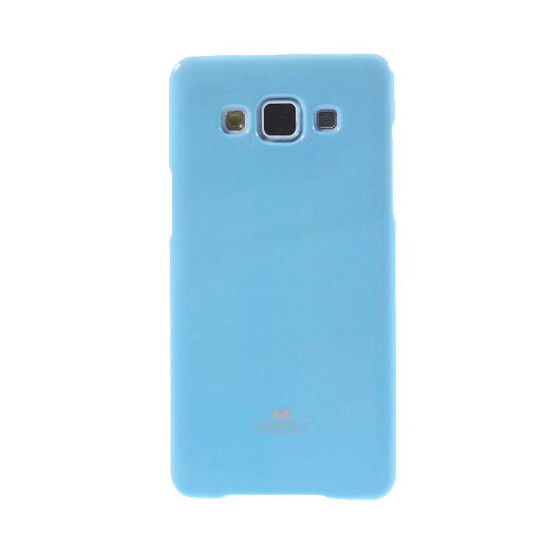 Mercury Goospery Jelly Glitter Sky Blue Casing for Samsung Galaxy J1