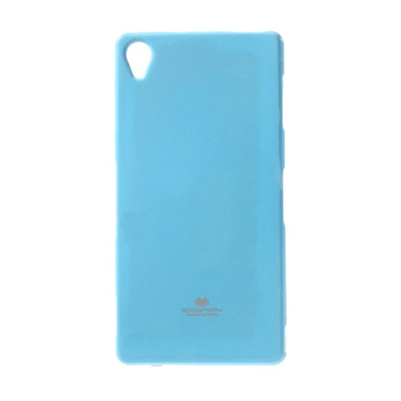 Mercury Goospery Jelly Glitter Sky Blue Casing for Sony Xperia Z3