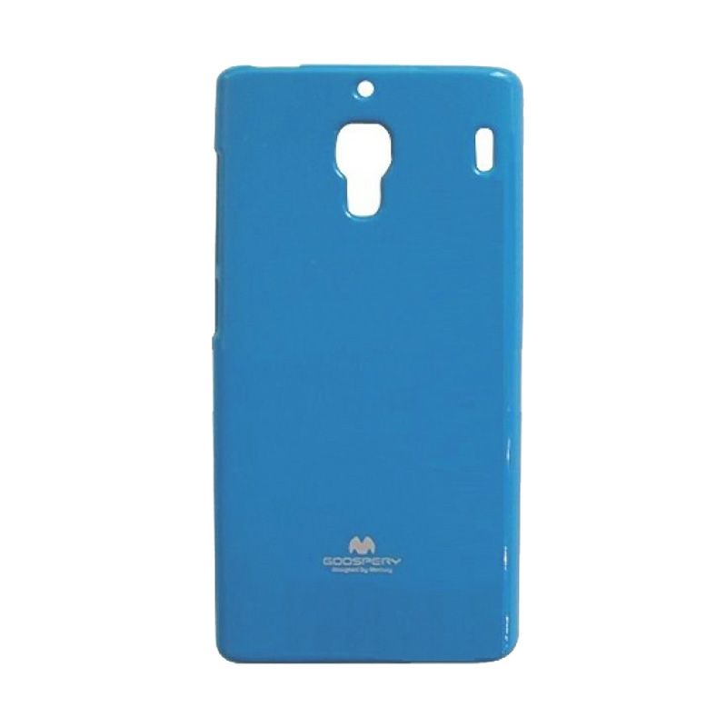 Mercury Goospery Jelly Glitter Sky Blue Casing for Xiaomi Redmi 1S