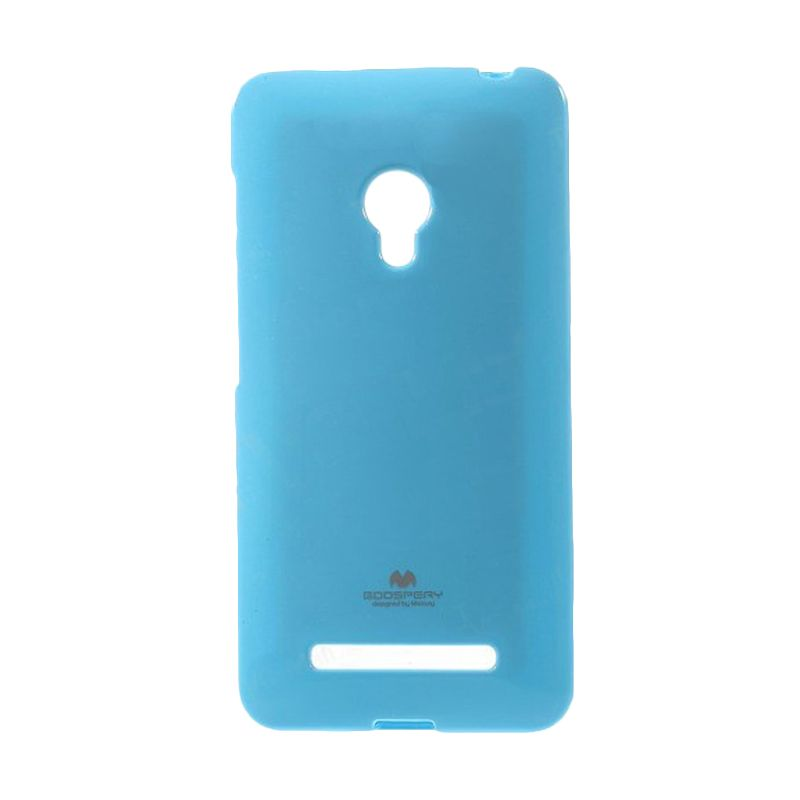Mercury Goospery Jelly Glitter Skyblue Casing for Asus Zenfone 5
