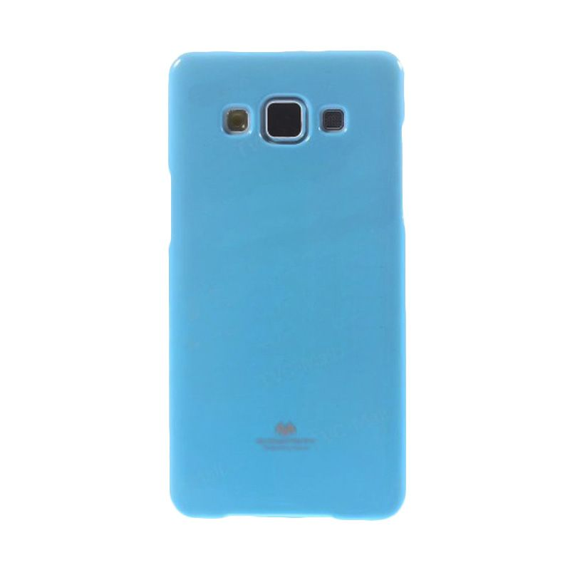 Mercury Goospery Jelly Glitter Skyblue Casing for Galaxy A3