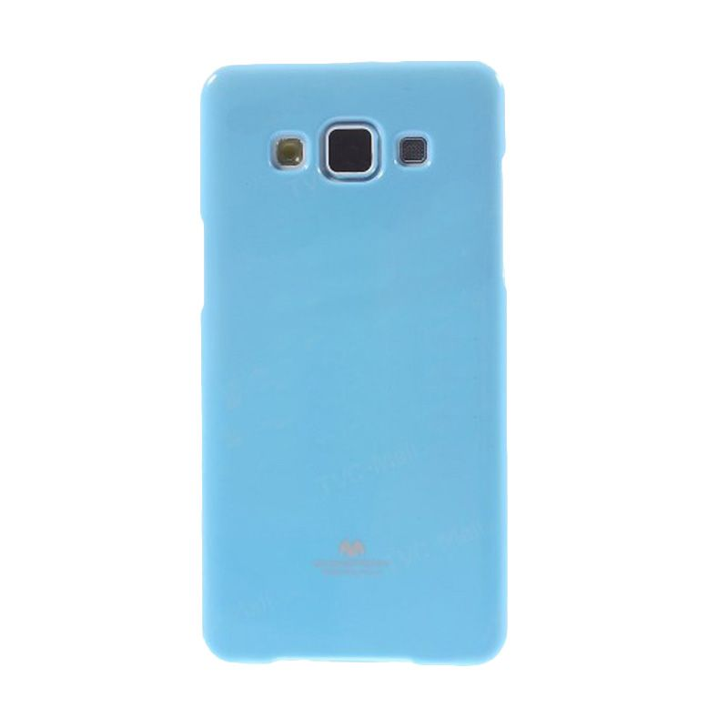 Mercury Goospery Jelly Glitter Sky Blue Casing for Galaxy A5