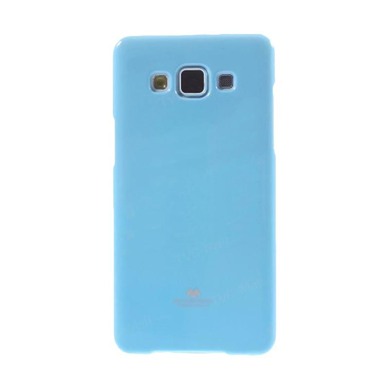 Mercury Goospery Jelly Glitter Skyblue Casing for Galaxy E5
