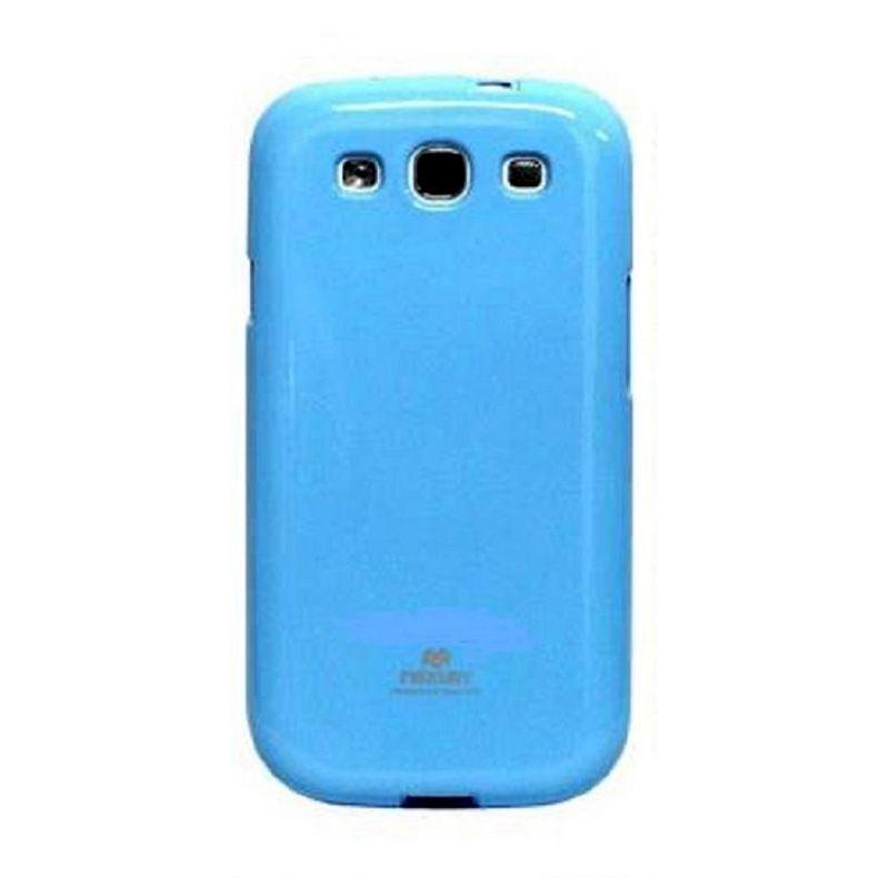 Mercury Goospery Jelly Glitter Skyblue Casing for Galaxy V or ACE 4
