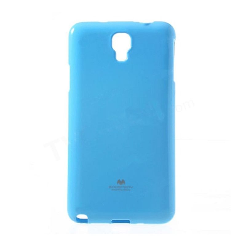 Mercury Goospery Jelly Glitter Sky Blue Casing for Xiaomi Redmi Note
