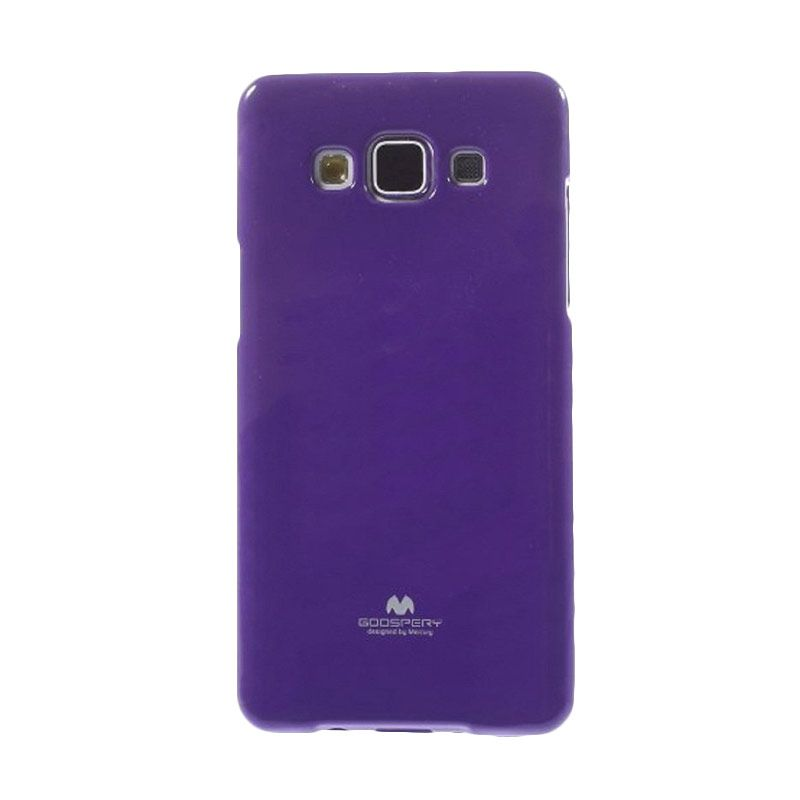 Mercury Goospery Jelly Glitter Purple Casing for Galaxy E7