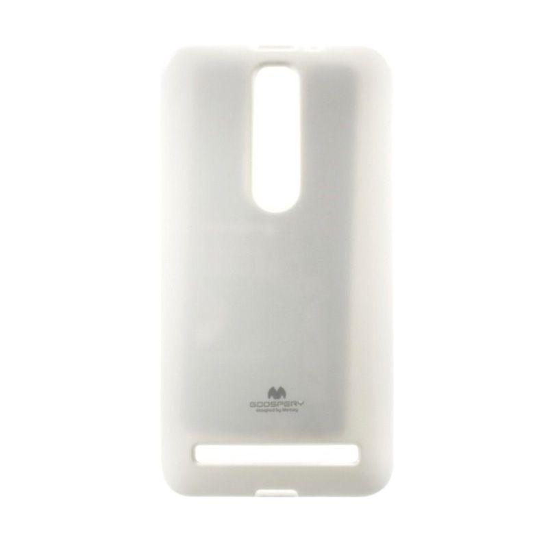 Mercury Goospery Jelly Glitter White Casing for Asus Zenfone 2 ZE551ML