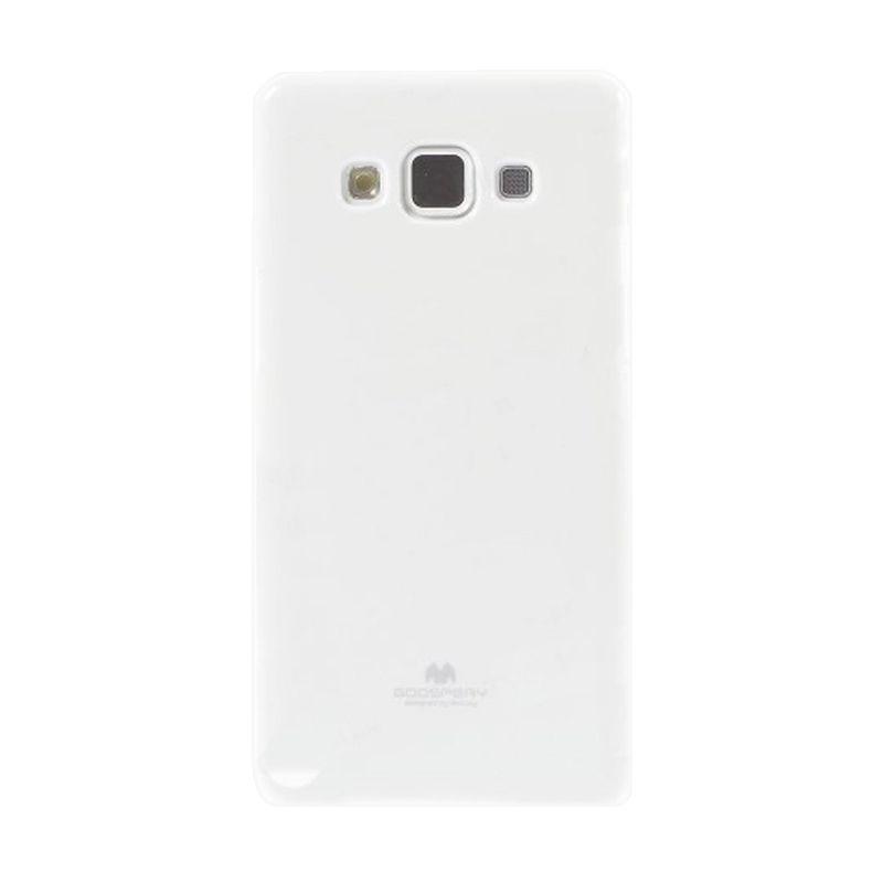 Mercury Goospery Jelly Glitter White Casing for Galaxy Grand Duos I9080/9082/Neo