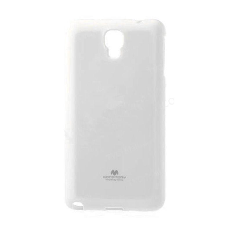Mercury Goospery Jelly Glitter White Casing for Galaxy S4