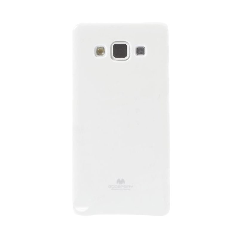 Mercury Goospery Jelly Glitter White Casing for Galaxy V or ACE 4