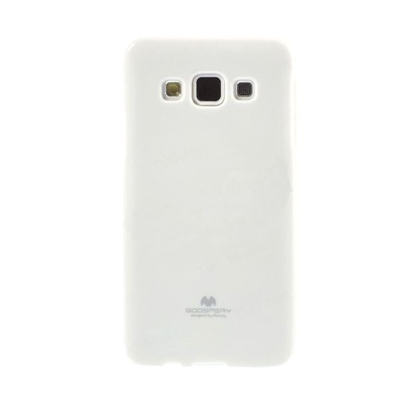 Mercury Goospery Jelly Glitter White Casing for Samsung Galaxy Core 2