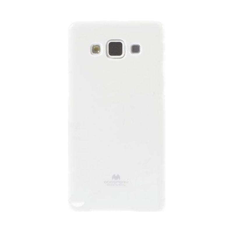 Mercury Goospery Jelly Glitter White Casing for Samsung Galaxy J1