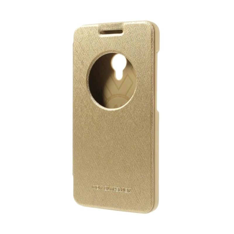 Mercury Goospery Wow Gold Casing for Asus Zenfone 5