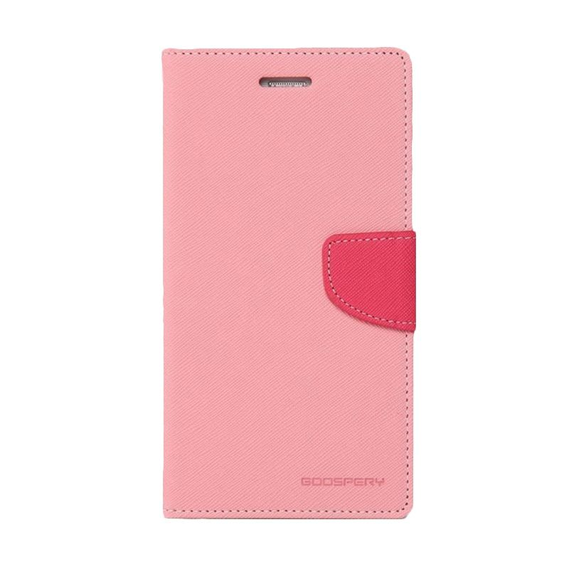 Mercury Goospery Fancy Diary Pink Hotpink Casing for Xiaomi Redmi 1S