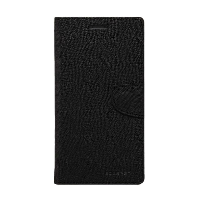 Mercury Goospery Fancy Diary Black Black Casing for Xiaomi Mi3
