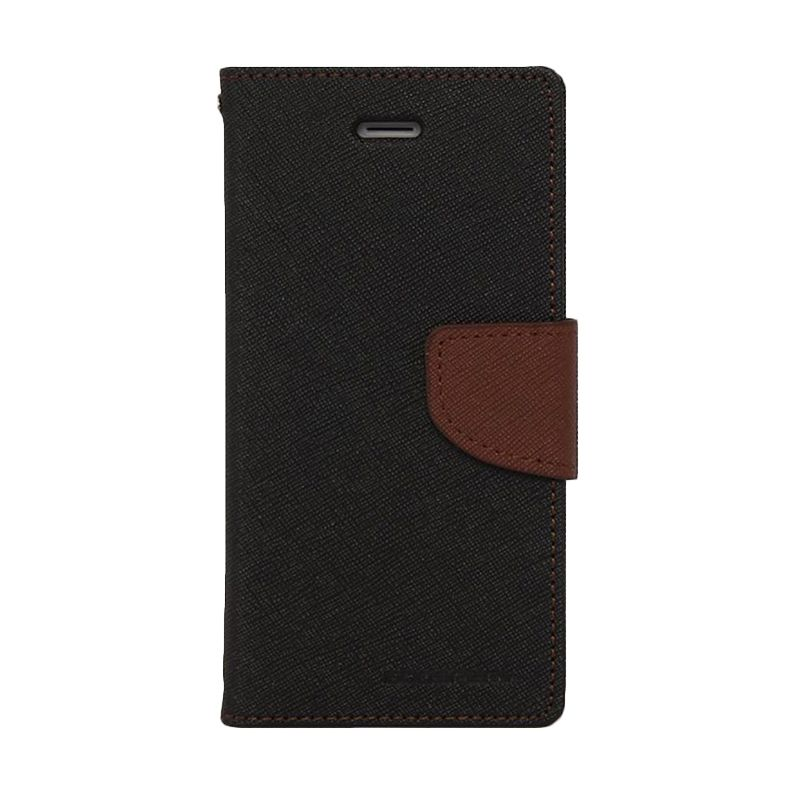 Mercury Goospery Fancy Diary Black Brown Casing for Xiaomi Mi3
