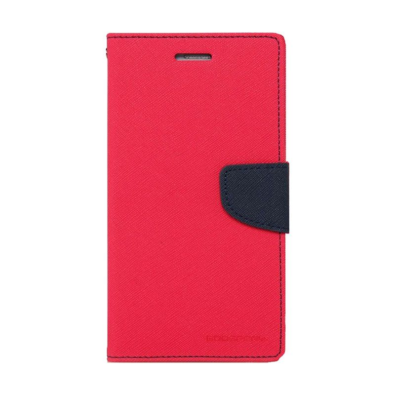 Mercury Goospery Fancy Diary Hotpink Navy Casing for LG Pro 2