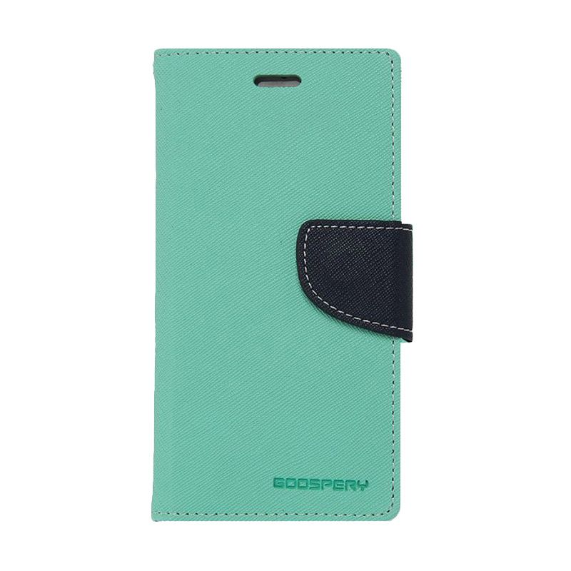 Mercury Goospery Fancy Diary Mint Navy Casing for Xiaomi Mi4