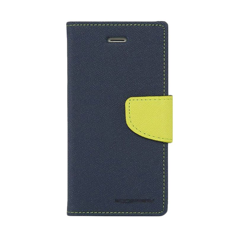 Mercury Goospery Fancy Diary Navy Lime Casing for Grand Prime