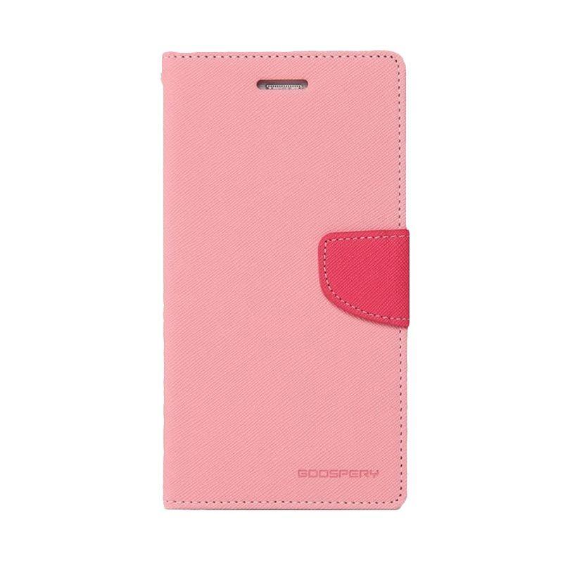 Mercury Goospery Fancy Diary Pink Hotpink Casing for Xiaomi Mi4